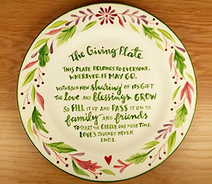 Nyack The Giving Plate